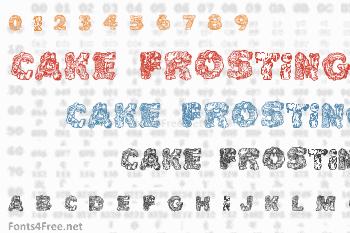 Cake Frosting Font