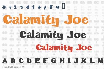Calamity Joe Font