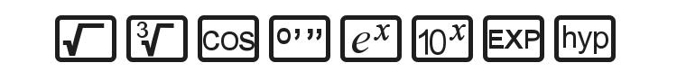 CalcHux Font