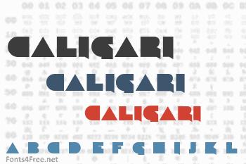 Caligari Font