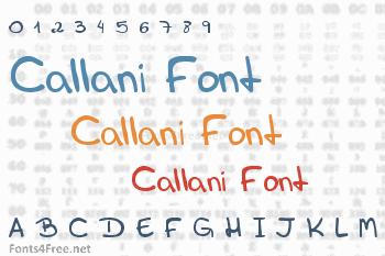 Callani Font