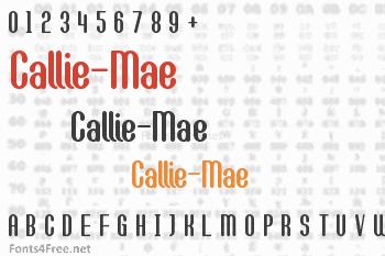 Callie-Mae Font