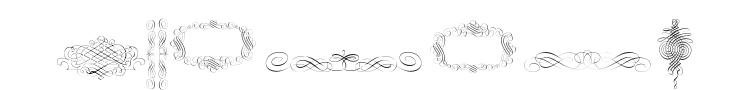 Calligraphia Latina Font Preview