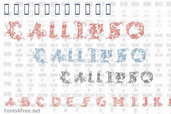 Callipsografia Font