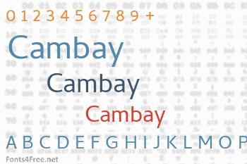Cambay Font