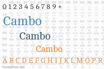Cambo Font