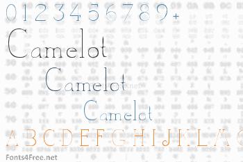 Camelot Font