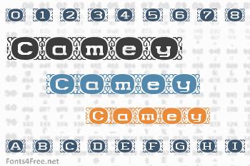Camey Font
