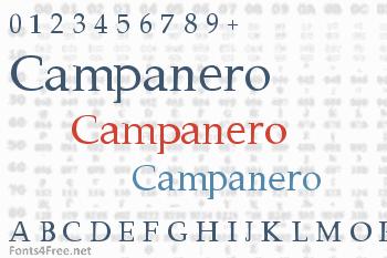 Campanero Font