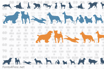 Can Dog Font