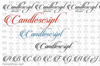Candlescript Font