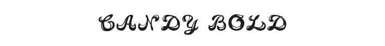 Candy Bold Font Preview