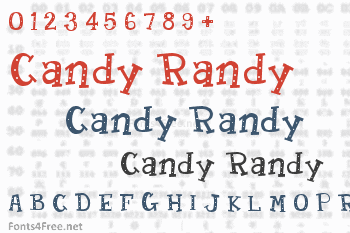 Candy Randy Font