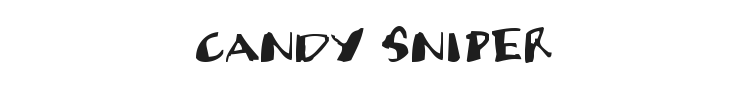 Candy Sniper Font