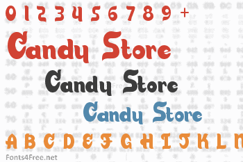 Candy Store Font