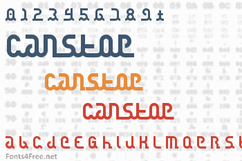 Canstop Font