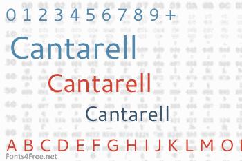Cantarell Font