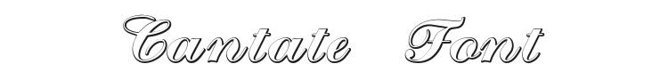 Cantate Font