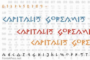 Capitalis Goreanis Font