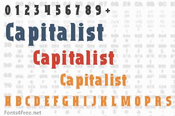 Capitalist Font