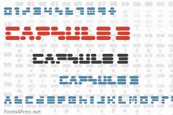 Capsule 3 Font