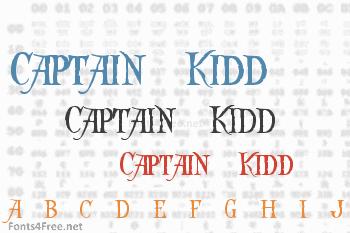 Captain Kidd Font