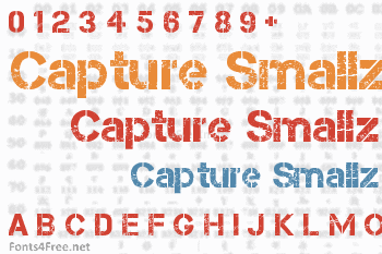 Capture Smallz Font