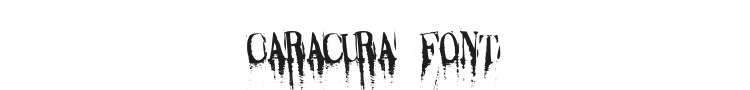 Caracura Font Preview