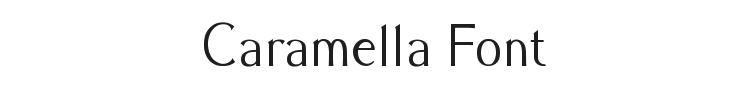 Caramella Font Preview