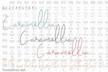 Caramellia Font