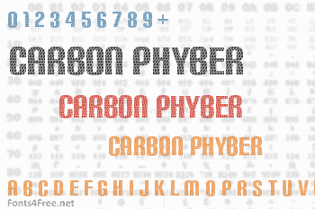 Carbon Phyber Font