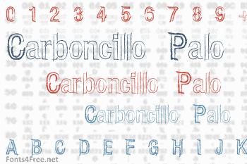 Carboncillo Palo Font