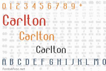 Carlton Font