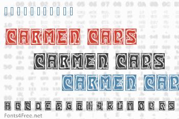 Carmen Caps Font