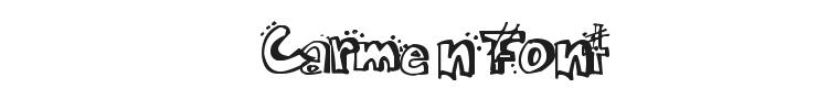 Carmen Font Preview