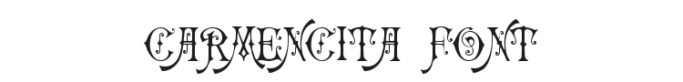 Carmencita Font Preview
