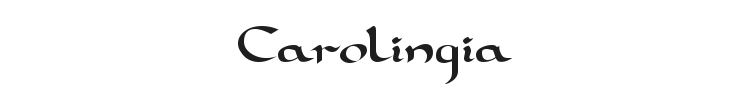 Carolingia Font Preview