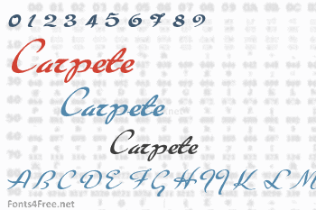 Carpete Font
