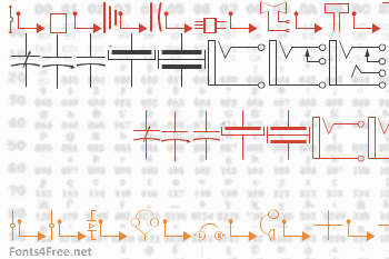 Carr Electronic Font