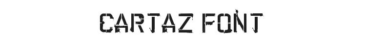 Cartaz Font Preview