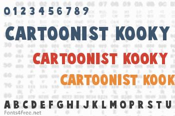 Cartoonist Kooky Font
