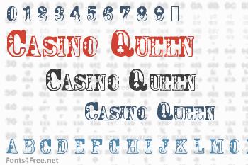 Casino Queen Font