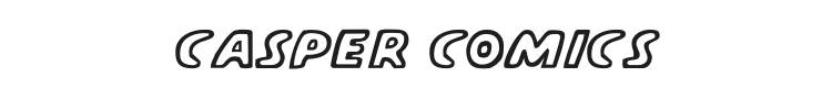 Casper Comics Font Preview