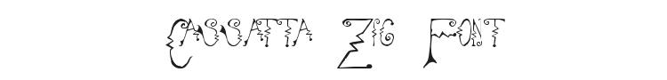 Cassatta Zig Font Preview