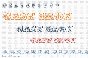 Cast Iron Font