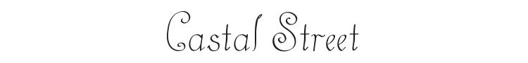 Castal Street Font Preview