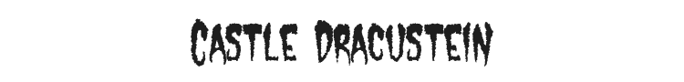 Castle Dracustein Font Preview