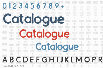 Catalogue Font