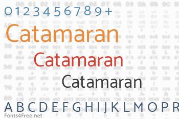 Catamaran Font