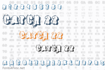 Catch 22 Font